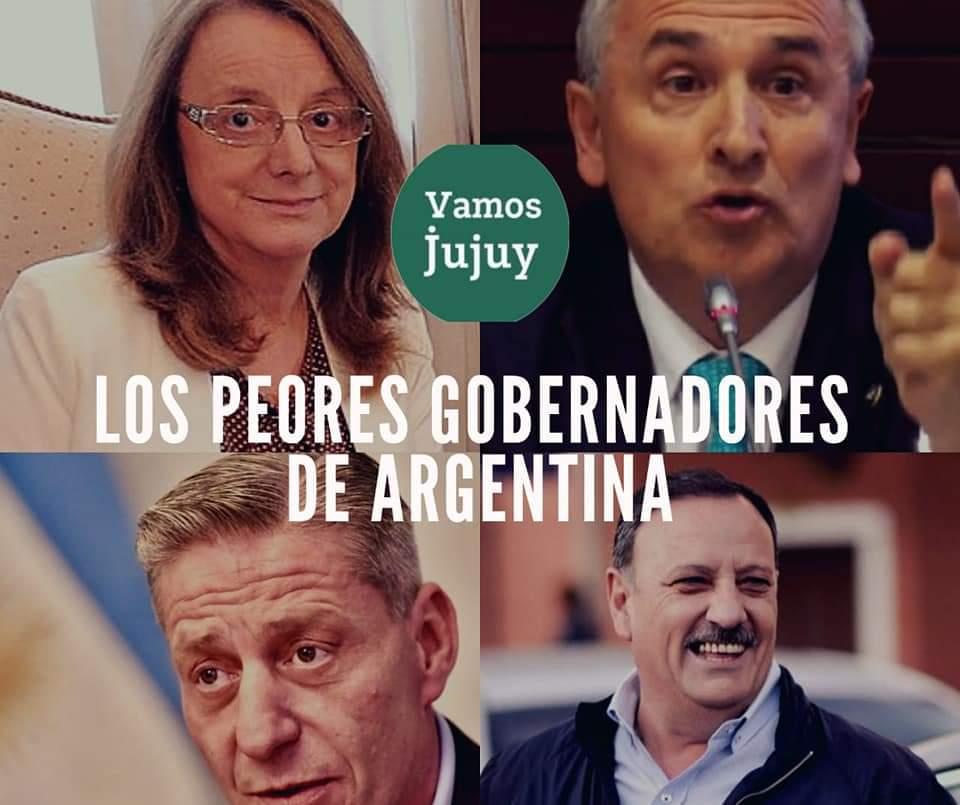 #Jujuy ⚠MORALES ENTRE LOS 4 GOBERNADORES CON PEOR IMAGEN DEL PAÍS 🗳📊  Según un relevamiento de CB Consultora, el  gobernador Gerardo Morales continúa ubicandose entre los mandatarios con peor imagen del país. https://t.co/1sBvz3l9b2