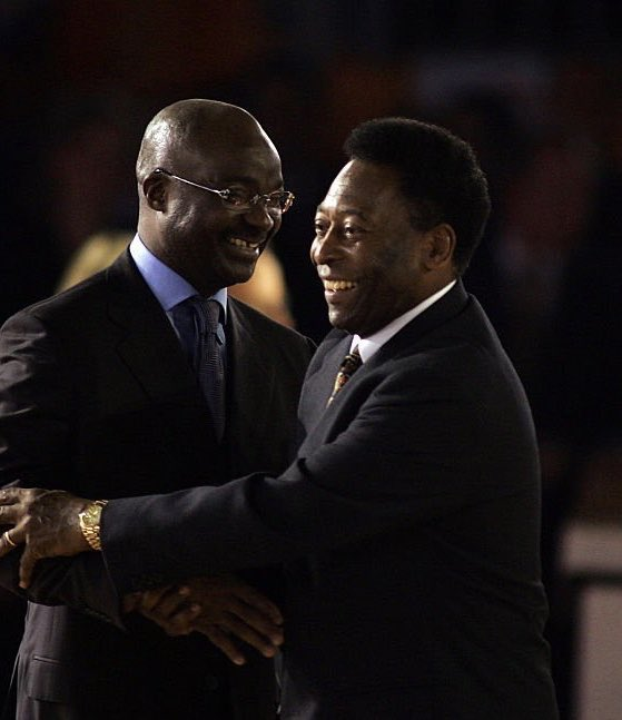 Happy birthday my dear friend O Rei @Pele.  The greatest in the history of football. Wish you a healthy and peaceful year ahead. 🇧🇷🇨🇲