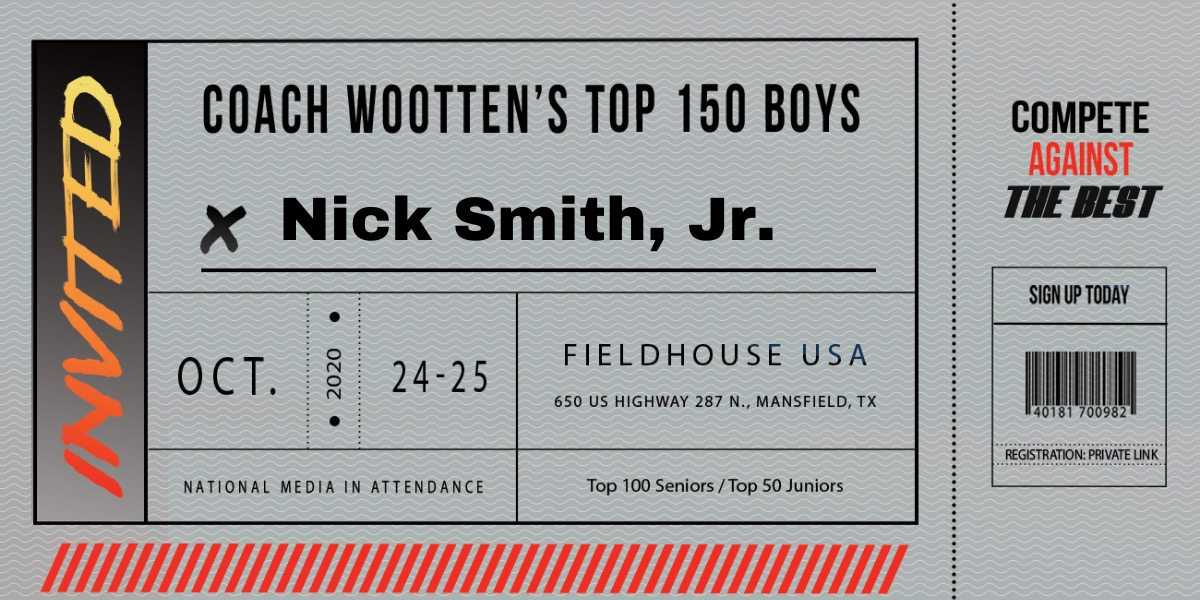 Arkansas ballers are converging on DFW on Friday for this wknd's prestigious Coach Wootten's Top 150 Boys camp ... '22 Nick Smith, Jr. @ntsmith1402 (6-4 CG, Sylvan Hills), '23 Layden Blocker @Laygogetit (6-2 PG, LRChristian), & '23 Bryson Warren @BrysonBswish (6-2 CG, LRCentral)! https://t.co/9mr73o3mWj