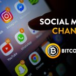 Image for the Tweet beginning: Join the #BitcoinGold Social Media