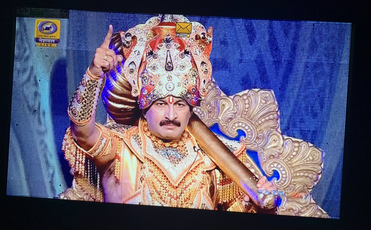 @ManojTiwariMP @DDNational #ayodhyakiramleela #Ayodhya https://t.co/PdMWWJg9hx