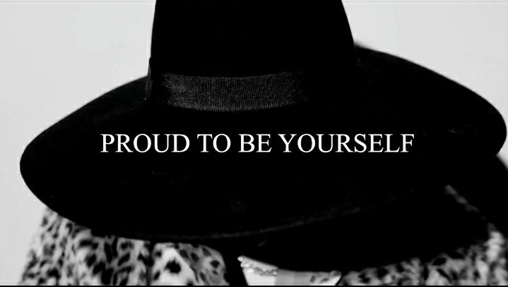 """The final tagline """"Proud to be yourself"""" is pretty self explanatory. Gulf is proud, he is proud to be himself and he urges the others to be the same. Gulf is proud of the journey he has come across, he is proud to have learnt about himself and the changes in him. +"""