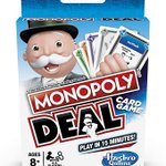 Image for the Tweet beginning: Monopoly Deal Card Game -