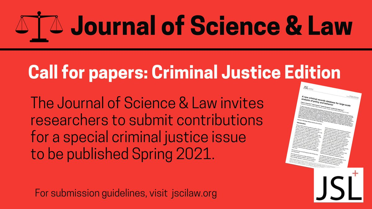 Ready to publish?   #openaccess #justicetwitter