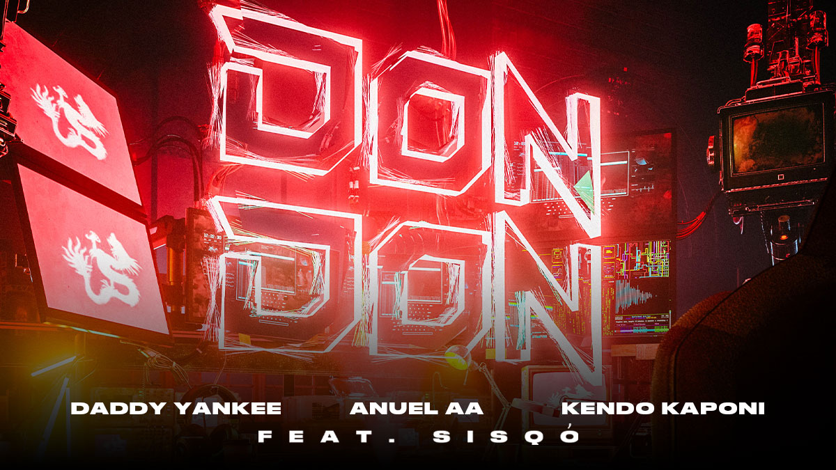 """The King of Reggaeton @daddy_yankee returns with a Remix of the Global Hit, """"Don Don"""" along with @Anuel_2bleA, Kendo Kaponi and none other than @OfficialSisQo."""