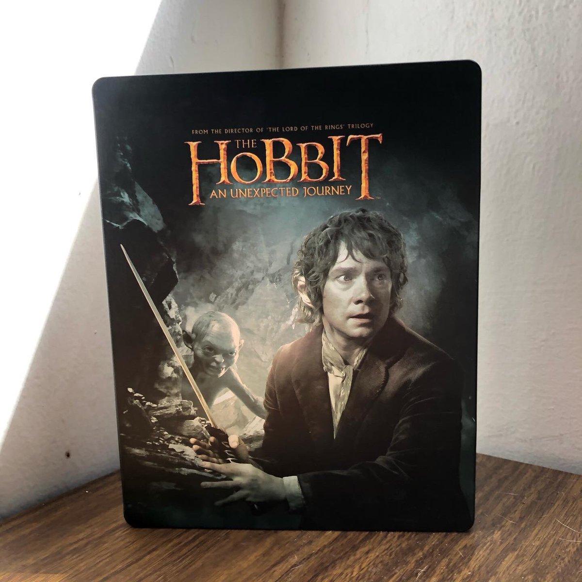 The Hobbit: An Unexpected Journey (2012) - Peter Jackson.  #GuillermoDelToro #JRRTolkien #IanMcKellen #CateBlanchett #Movie #Steelbook #EspecialEdition #TheLordOfTheRings #Bluray #BehindTheScenes https://t.co/hPz1EDbeh1