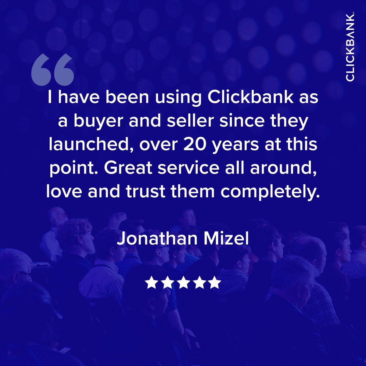 For over 20 years, ClickBank has supported entrepreneurs and continues to help them grow their businesses to new heights!😎  Ready get your ClickBank career started? Sign up for a free account today!👇   https://t.co/QKaG1rPMyS https://t.co/ep6FLN0ULi