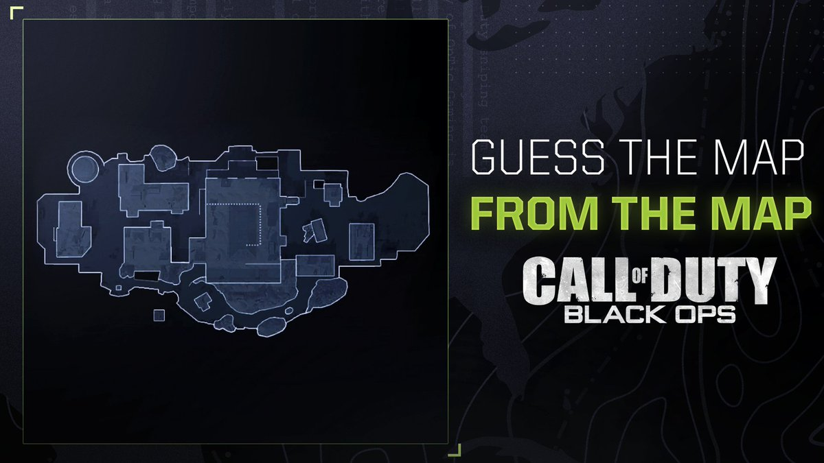 OpTic Gaming - Classic Black ops map and likely making an appearance in Cold War, name this map and share your best memory playing on it ⬇️  #OGLA