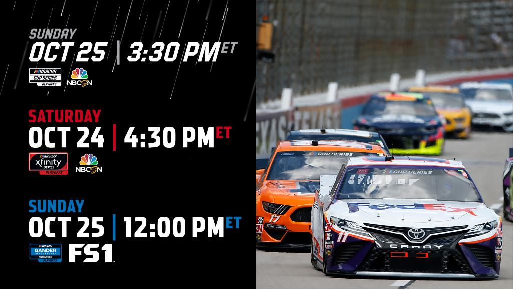 Just one weekend remains before its our turn 😈 @TXMotorSpeedway, our eyes are on you. #NASCARPlayoffs