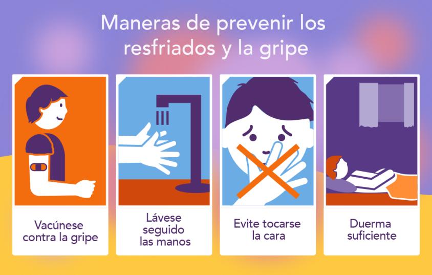 ¡Prevenga, prevenga, prevenga💉! El COVID-19 y la gripe se estarán propagando al mismo tiempo 😷. Vea dónde vacunarse aquí  y protéjase ya.