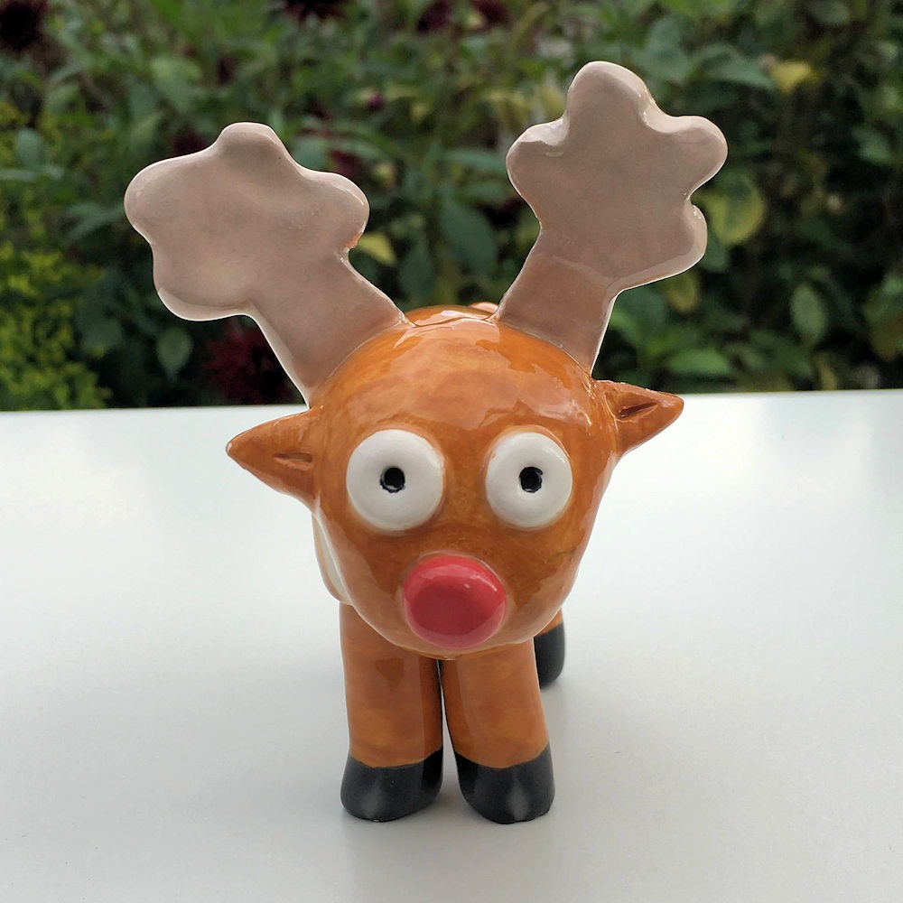 Red-nosed Reindeer | Fiona Hodges https://t.co/f0afK3dKcl  ESCArtists Online Pop-Up Shop - open until 31st October 2020 #Lincolnshire makers #LincsConnect https://t.co/7utB44i0ig