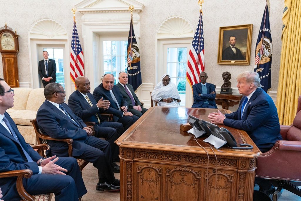 "President Trump said this today about #Ethiopia's self-financed $5.0B dam, #GERD: 1. Egypt could ""blow-up the dam"". 2. Ethiopia will ""never see"" the $264M aid he suspended unless it agrees to his demands. 3. Doesn't blame Egypt.  MY VIEW: The President should have stayed neutral. https://t.co/qVcEOWIB5l"