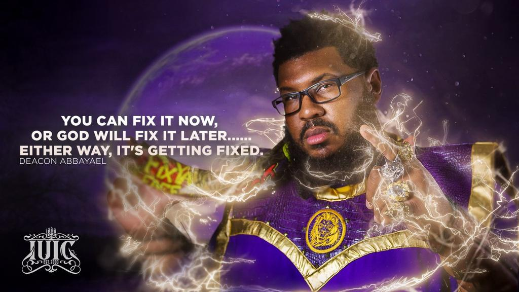 """Wise words from the Deacon: """"You can Fix it now or #GOD will Fix it Later.....either way it's getting #Fixed""""  Learn more at https://t.co/2mXtTUkeju #southeastsd #loganheightscdc #loganheights #chicanopark #barriologan #chulavista #nickcannon #reggiebush #faizonlove #andraday https://t.co/OFW8licCLZ"""
