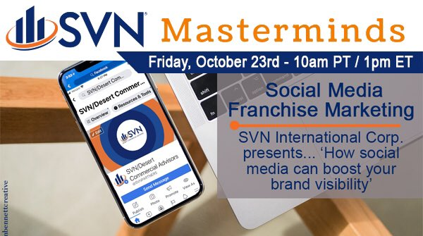 The @SVNic Masterminds Council call this morning was great!  I was happy to be a co-presenter today to discuss the value of 'Making a lasting #impression on #SocialMedia If you're from SVN & missed the call or want the slide presentation, reach out to @SVNic for more info. https://t.co/s91jBJzVFi