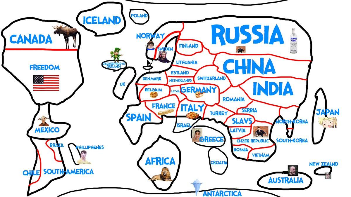 Dani People Map