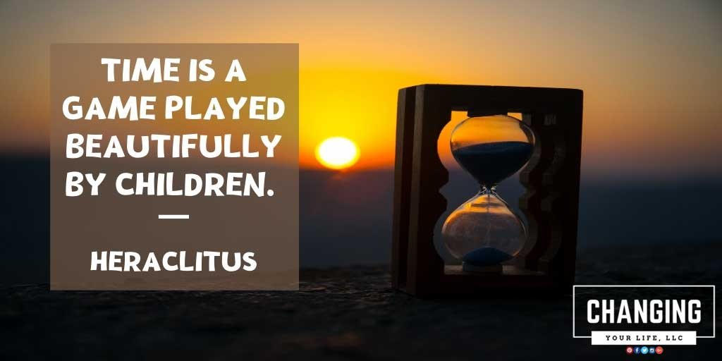 Time is a game played beautifully by children. - Heraclitus #CYLLLC #Kreps #ChangingYourLifeLLC #LifeCoach #LawyerCoach #positivity #positivethoughts #life #attitudeofgratitude #embracelife #happythoughts https://t.co/FWNC3Lt42V https://t.co/t9J3z686t6