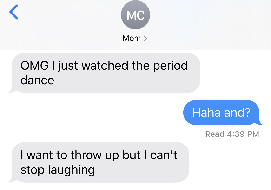 Mom's delivered the perfect #Borat2 review