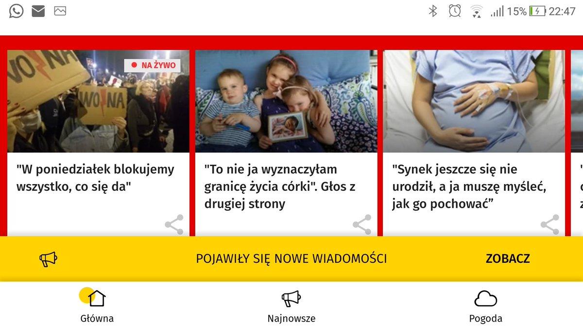 Historia @ira_kowalczyk, @MaciekKaczynski i #Anielka na stronie głównej @onetpl. Teraz pozostaje już tylko omadlać owoce tej lektury u rodziców, którzy stoją przed dylematem: czy pozwolić swojemu dziecku żyć?  https://t.co/q36TIP4Ppn https://t.co/5MfL54iwNy