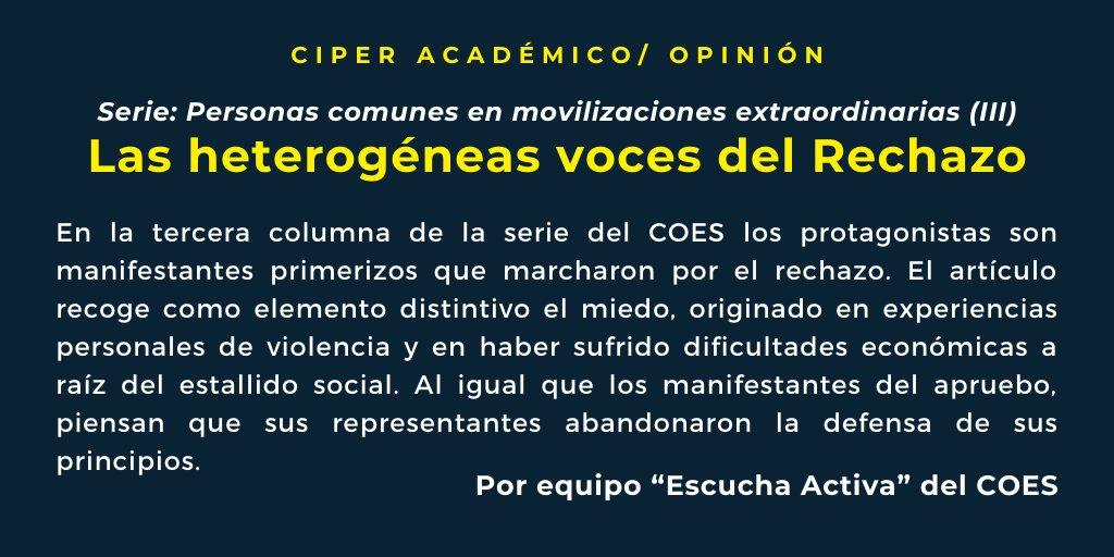 Lea CIPER Académico, para que lo vea venir 👉https://t.co/q4EM0mWLWa https://t.co/5gcbSo3ceU