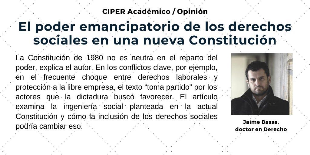 Lea CIPER Académico, para que lo vea venir 👉https://t.co/bQ8uXDAFIX https://t.co/ddbWlIKvUt