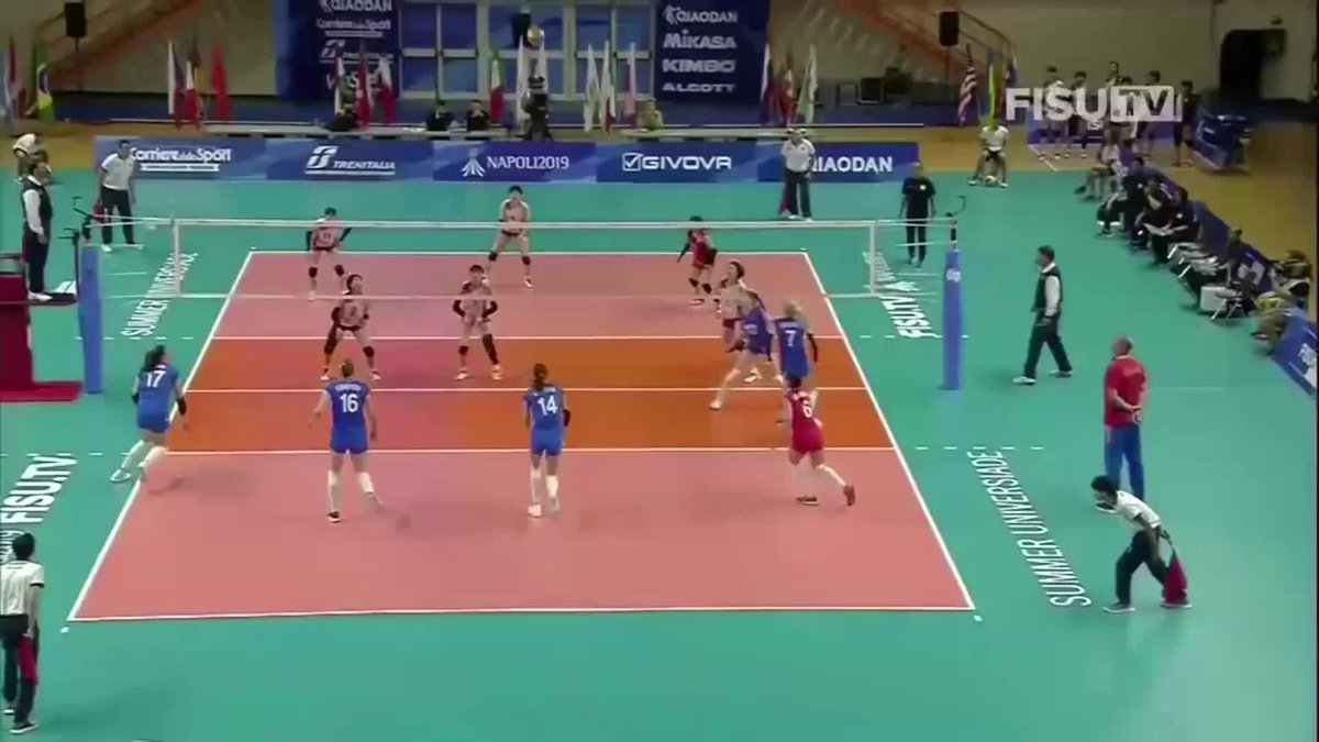 2019 Universiade Games Women's Semifinal: Russia 🇷🇺 vs 🇯🇵 Japan  FULL MATCH: https://t.co/yyOBhCLcRA  The FISU World University Games are the largest global sports events for student-athletes. More info: https://t.co/Rn7vsy4qQo https://t.co/JQsO3tcUBV