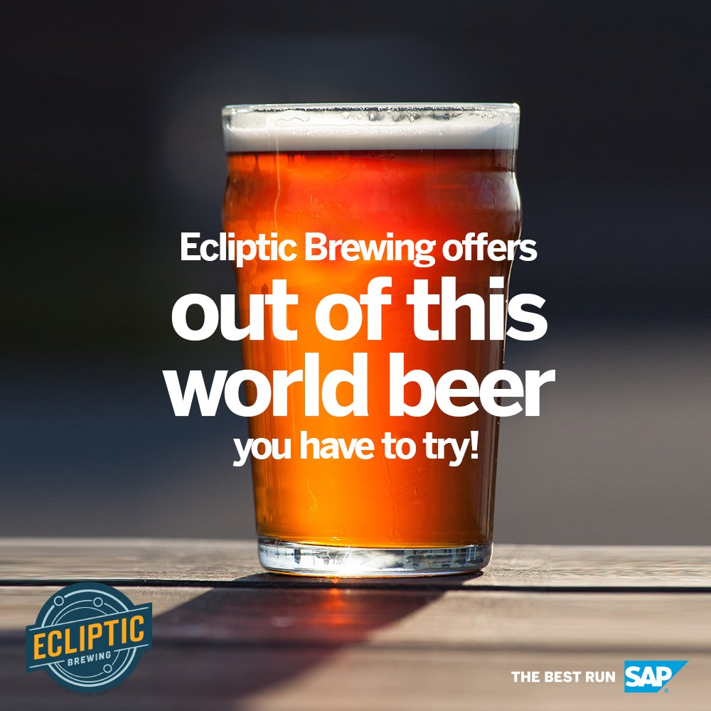 ✨ This space-themed brewery offers out of this world beer! Check out how Ecliptic Brewing and SAP can help make #Oktoberfest special for you: https://t.co/NOX9187WJN https://t.co/LGNyYwt61r