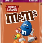 Image for the Tweet beginning: M&M's Crunchy Caramel Limited Edition