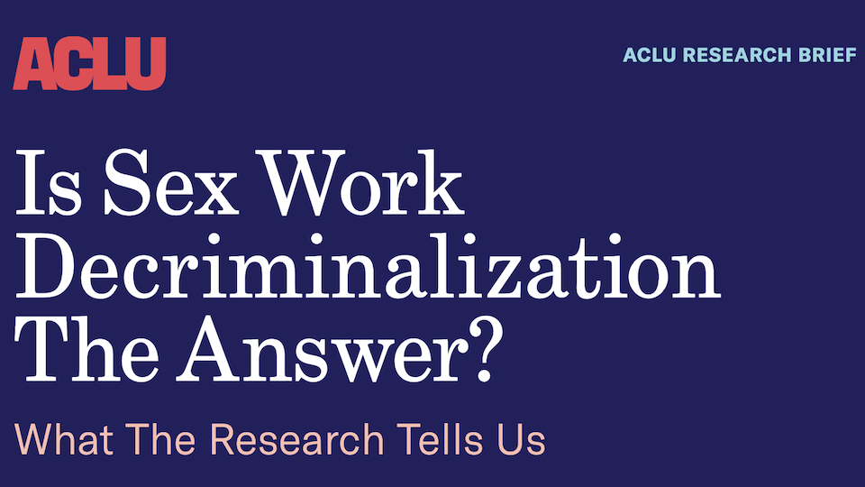 test Twitter Media - RT @XBIZ: New ACLU Report Calls for Full Decriminalization of Sex Work @ACLU https://t.co/mm3KfBgAr6 https://t.co/eE60Z95OxR