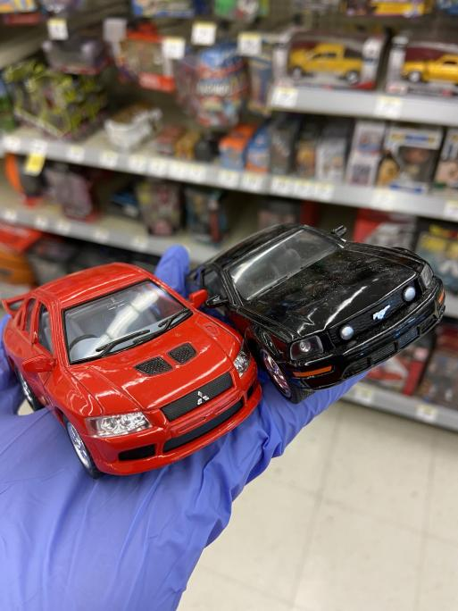 DeafGamersTV - I should've bought these toy cars when I was at Walgreens the other day lol These 2 are my favorite cars