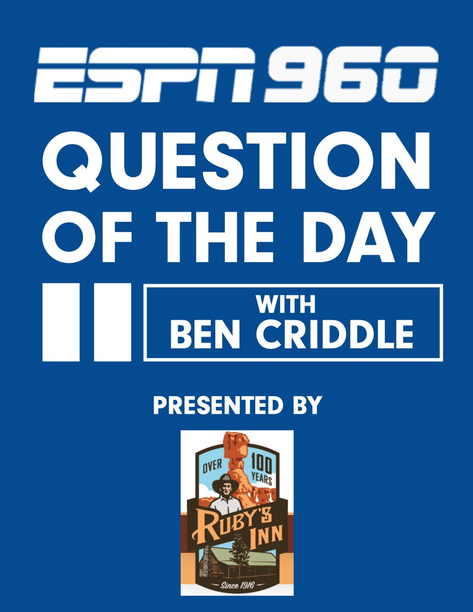 🚨NOW: Question of the Day on @espn960sports🚨  How many points must BYU win by vs. Texas State for you to feel satisfactory about BYU Football heading into Western Kentucky week  Listen: 960 AM / 94.5 FM / https://t.co/5ONQYssCeV  #BYU #BYUFOOTBALL #ESPN960 @CriddleBenjamin https://t.co/sR1DGPJBkY