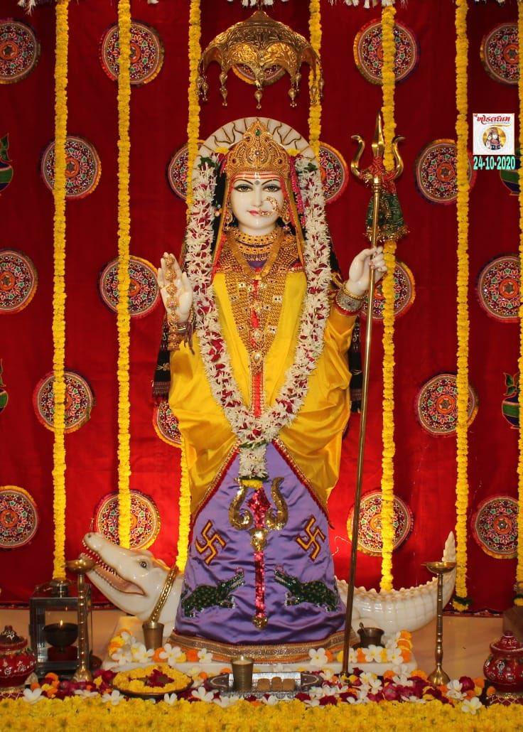 આજના દશઁન  શ્રી #ખોડલધામ - #કાગવડ   Dt.24/10/2020 🌺🌺🌺🌺🌺🌺      🌺મહાદેવ હર🌺  🌺જય ખોડલધામ🌺  🌺જય ભગવાન🌺  🙏🙏🙏🙏🙏🙏 🇮🇳🇮🇳🇮🇳🇮🇳🇮🇳🇮🇳 #shree #khodaldham #kagvad #temple #darshan #mandir https://t.co/elDCH6f5g9