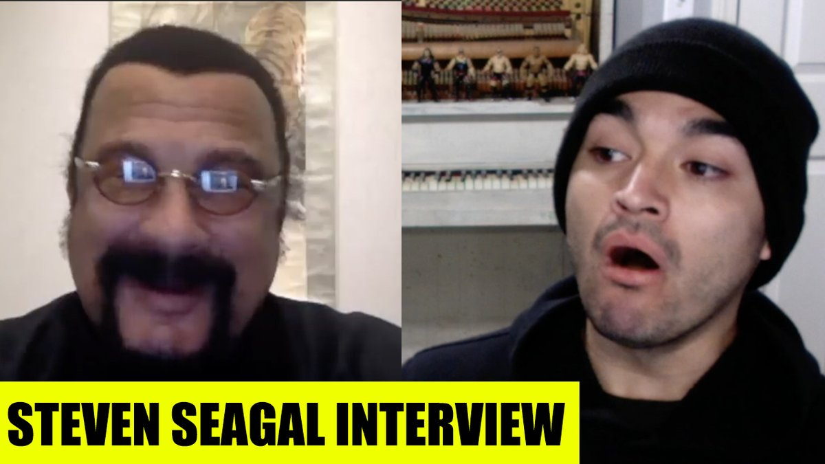 RARE Steven Seagal Interview - 2020 https://t.co/VTEGVNpj2M #StevenSeagal #aikido #martialarts #MexicanMartialArts #interview #Friends #homies https://t.co/KIQmy97pOZ