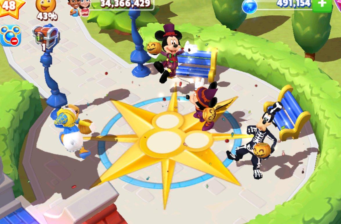 They celebrating #Halloween2020 by dancing is soo cute 🎃💃🙌🧸  @DisneyMKingdoms  #DisneyMagicKingdoms #MickeyMouse #Daisy #Minnie #Goofy https://t.co/qrTxFo4Dis