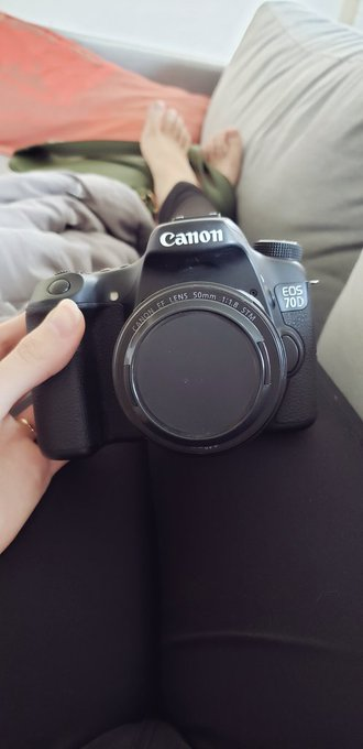 Got a new camera today 😍   Upgraded my Canon T1i to a 70D, and oh my goodness the quality difference