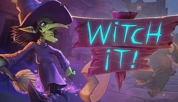 EmmaJupiter - LIVE in a few playing Witch It! (spooky prop hunt lol) with some rad friends- @Parker_Bliss @RootBeerRiku @cornerghooost & @callmetheodoree ! Prepare for chaos 😂   🎃