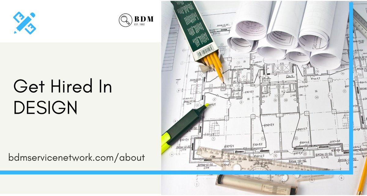 Help to Get Hired in Design! Visit https://t.co/AZMmMZXtji  #Design #Animator #ArtDirector #CreativeDirector #Designer / #Drafter #GraphicDesigner #Illustrator #InteriorDesigner #Photographer #UXDesigner #WebDesigner #Designjobs more https://t.co/r1eIFkLfgV