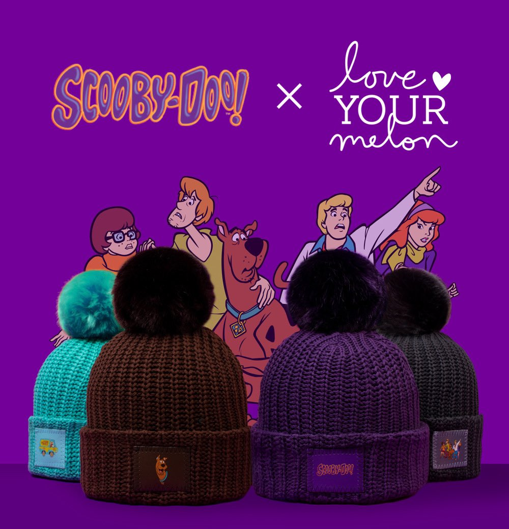 Our last release for Love Your Melon Halloweek is a mystery no more!  Introducing Scooby-Doo™ x Love Your Melon featuring Scooby-Doo, the Gang, and Mystery Machine on your favorite beanies.   Set your alarms for tomorrow, October 24th at 10 AM Central Time. https://t.co/ZchQxFhdhD