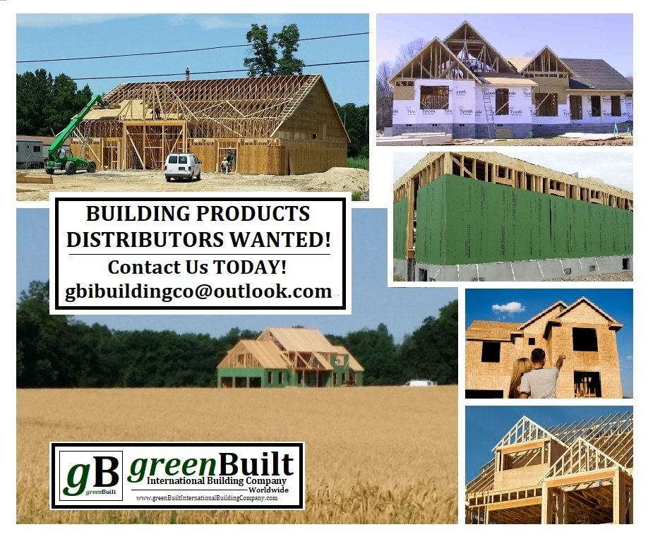 #DISTRIBUTOR Opportunities...NOW!.....for our #Green #Sustainable CAFboard #BuildingProducts for #AffordableHousing #Housing.  Visit us NOW at https://t.co/wHkC35kGrX.   Contact us TODAY at gbibuildingco@outlook.com #builder #contractor #buildingmaterials. RT https://t.co/WTTArOCZVM