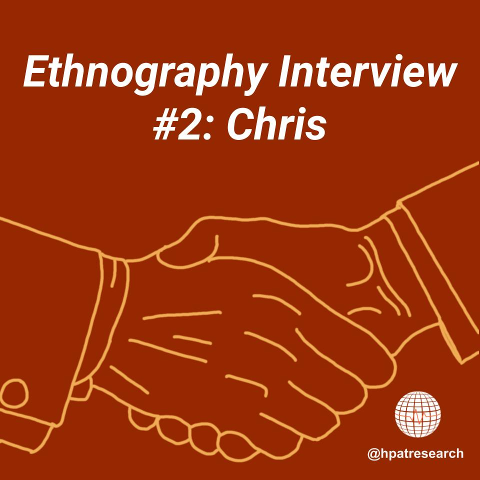 Scroll through our latest interview post with Chris. All information presented was culled by HPAT ethnographers.  Credit to Sarah Sams for the amazing graphics!  #COVID19 #interview #ethnography #activism #advocacy #donation #hpat #hpatresearch #publichealth #medicine https://t.co/QPm2CTVyGq