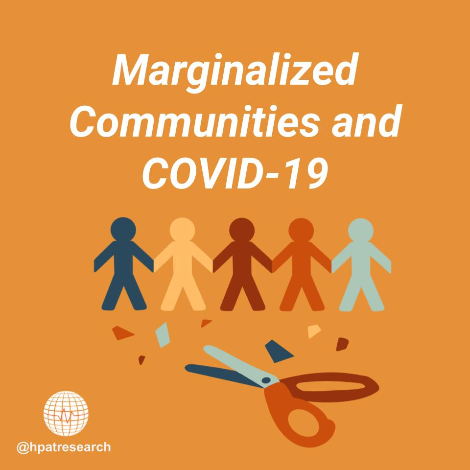 Scroll through our latest post to learn about the toll COVID-19 has had on marginalized communities—and how you can help.  Credits to Rachel Park for the amazing graphics!  #systemicracism #ally #advocacy #activism #covid #stayathome #hpat #ethnography #sociology #publichealth https://t.co/4h1f4zocwh