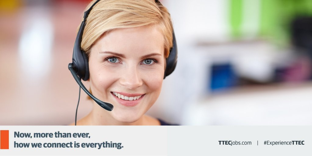 Do you want to build your #career in an organization that advocates #diversity, #inclusion, and unity? Be part of our team in creating exceptional #CustomerService experiences. Apply NOW: https://t.co/qopX35UJtr #ExperienceTTEC #TTECSpringfield #GetHired #Jobs #OpenForWork https://t.co/rSs4Wrw0VU