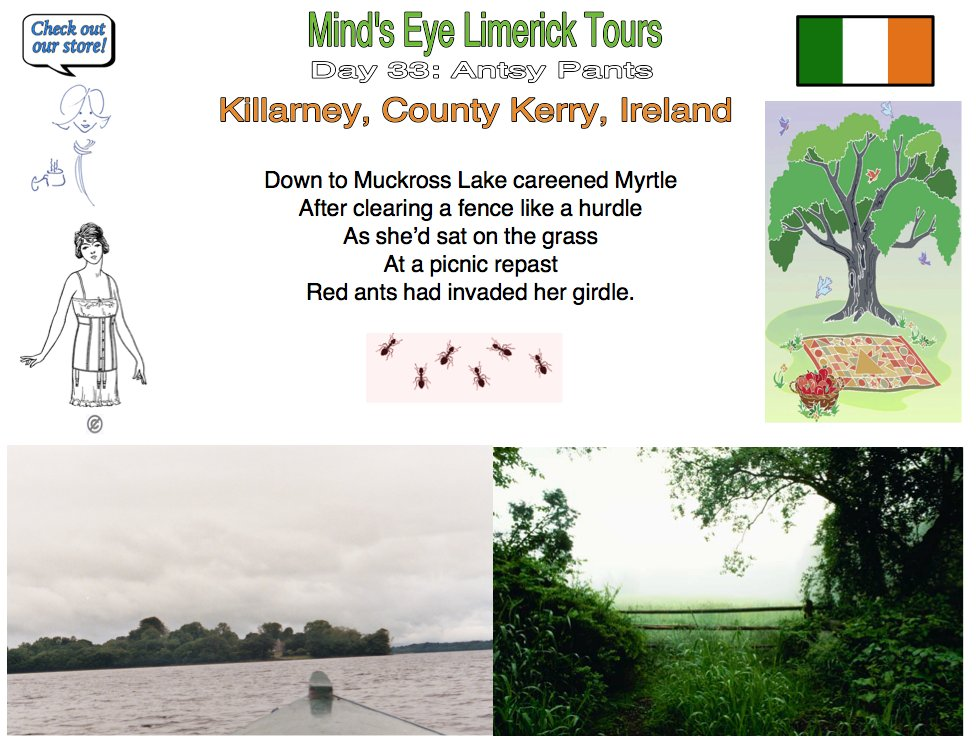 #Limerick #entertainment #humor #store #Killarney #MuckrossLake #QueenVictoria #ants #Kerry https://t.co/G0Xuvs3PY8 https://t.co/u1rSJpfJB8 https://t.co/FYMWkM3fFt