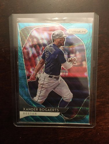 2020 Panini Prizm Xander Bogaerts #143 Teal Wave Prizm  👉 $3.50 👉 https://t.co/69fqjw2pyu  @HobbyConnector @mlbhobbyconnect @sports_sell @DailySportcards @HiveCards #tradingcards #collect #thehobby #hobbybst #boston #redsox #bosox #dirtywater #panini #whodoyoucollect #bos #mlb https://t.co/rBpjRNDv09