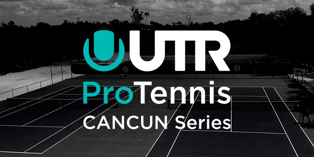 The #UTRProTennisSeries is coming to Cancún! 🔥🎾🇲🇽  Starting November 15, we will host a series of events bringing opportunities for safe, local play & prize money to pro players ranked 400-2,000 by #UTR. Visit https://t.co/nENutXNUKd to learn more & register to play! #tennis https://t.co/nCUva7fV3r