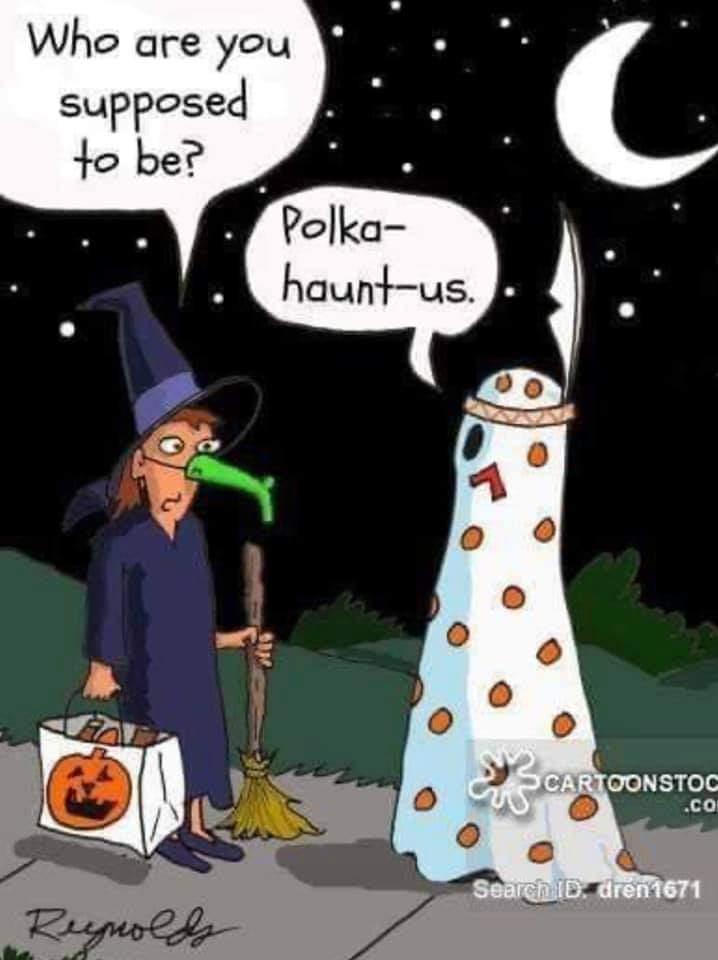 Hehehe! #puns #Halloween #costume #jokes https://t.co/55nWLDUrRY