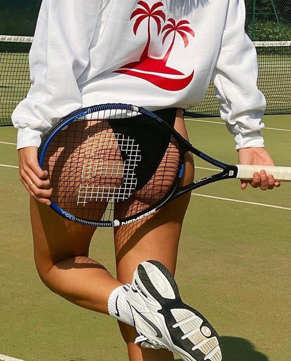 Saturday morning hit with @mollieee.c  Follow DMARGE: https://t.co/gKnvMbCoxP . . . #tennis #tennisgirls https://t.co/bBlpAHKD5f