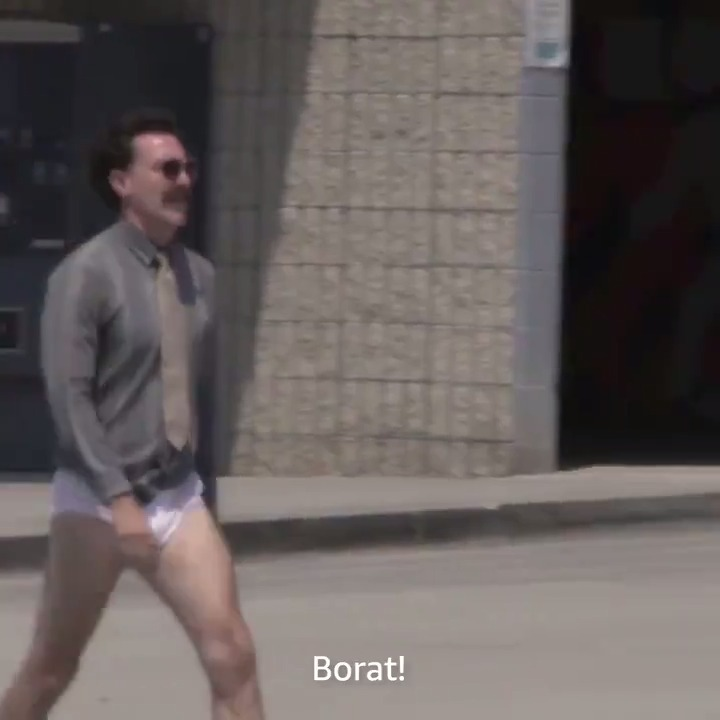 Is #Borat an influencer now? (How is that a sentence we just tweeted?)