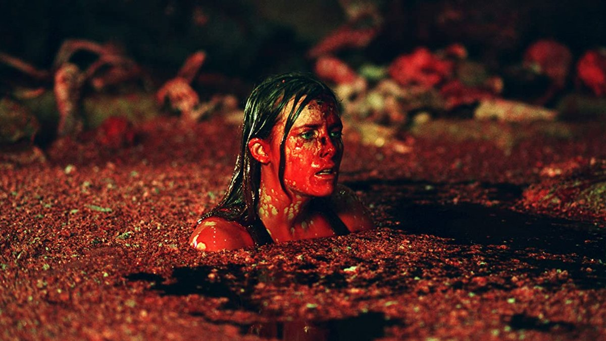 Did you know The Descent passes the Bechdel Test with flying colors? In fact, there are no male speaking roles in the film—just a buncha bloody, badass women kicking some serious cave-crawler ass.