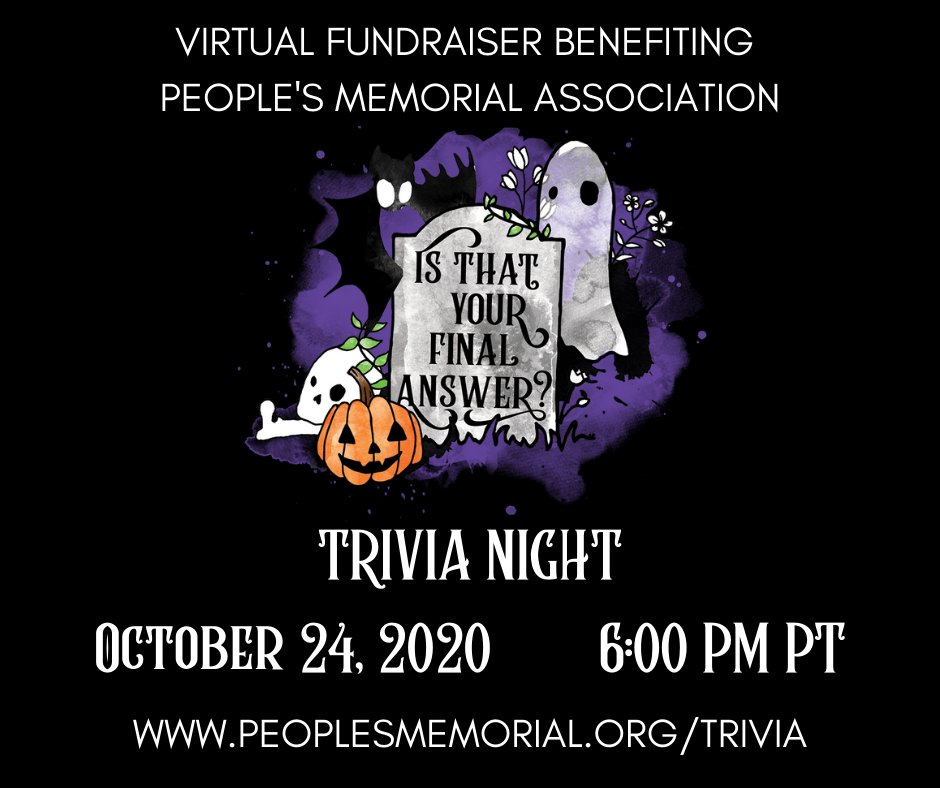 Trivia is happening tomorrow! So register today! We can't wait to play! https://t.co/HcTHxqHgBP #fundraiser #trivia #deathpositive #deathcare #endoflife #funeral #funeralindustry #endoflifeplanning #mycorpsemychoice #mortician https://t.co/zYVfNvnkGj