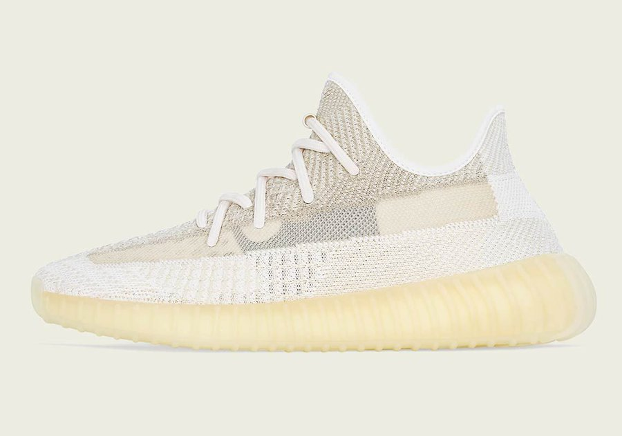 """Where To Buy The adidas Yeezy Boost 350 v2 """"Natural"""" =>bit.ly/Sneaker_News"""